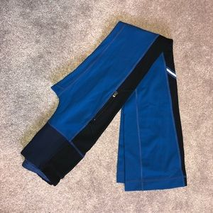 Lululemon Blue/Black Flare Grove